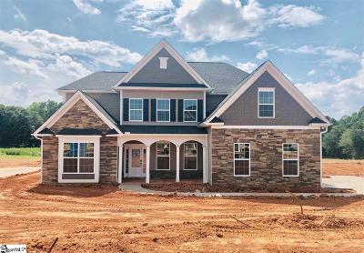 Simpsonville Single Family Home For Sale: 203 Lakeway #Homesite