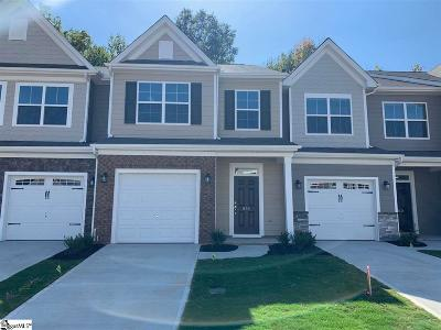 Greenville County Condo/Townhouse For Sale: 836 Appleby #Lot 98
