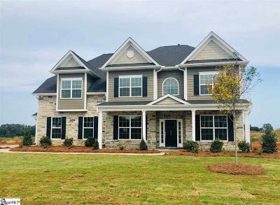 Simpsonville Single Family Home For Sale: 204 Lakeway #Homesite