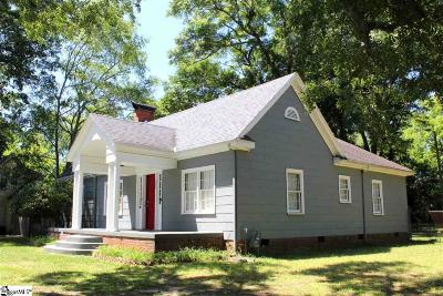 Spartanburg Single Family Home For Sale: 2304 Bruce