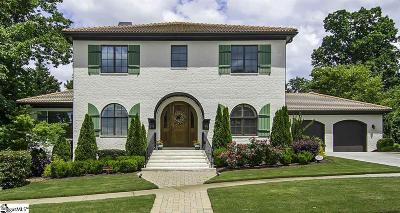 Greenville Single Family Home For Sale: 210 Lucca