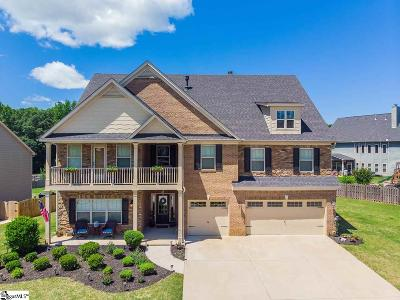 Simpsonville Single Family Home For Sale: 1 Candleston