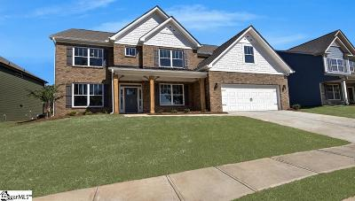 Greer Single Family Home For Sale: 508 Blaize
