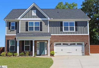 Greer Single Family Home For Sale: 503 Red Ledge