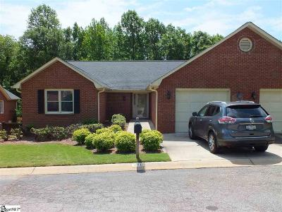 Greenville County Condo/Townhouse For Sale: 118 Fairoaks