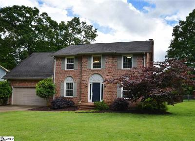Greer Single Family Home Contingency Contract: 115 Terrence