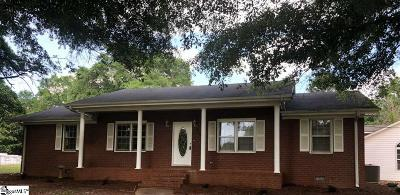 Greenville Single Family Home For Sale: 246 Log Shoals