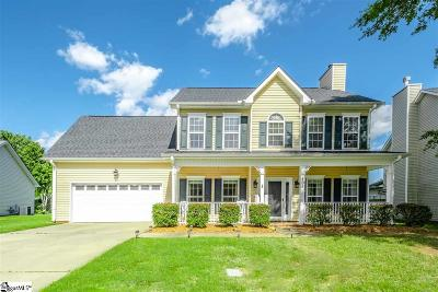 Simpsonville Single Family Home For Sale: 405 Cotton Hall