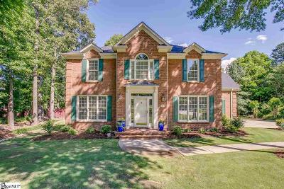 Simpsonville Single Family Home For Sale: 105 Brook Hollow