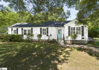 Fountain Inn Single Family Home Contingency Contract: 400 Craig