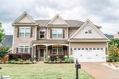 Simpsonville Single Family Home For Sale: 208 Oystercatcher