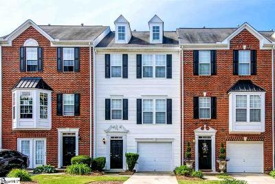 Greenville County Condo/Townhouse For Sale: 103 Sylvan Oak
