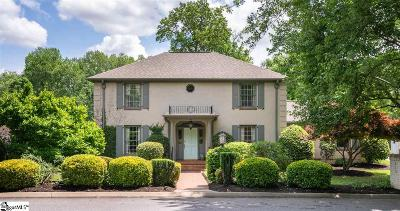 Greenville Single Family Home For Sale: 215 Michaux