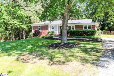 Greenville County Single Family Home For Sale: 401 Galphin