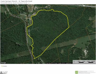 Travelers Rest Residential Lots & Land For Sale: N Tigerville