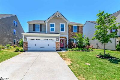Simpsonville Single Family Home For Sale: 229 Chestatee
