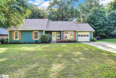 Mauldin Single Family Home Contingency Contract: 141 Manchester