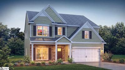Simpsonville Single Family Home For Sale: 203 Lambert