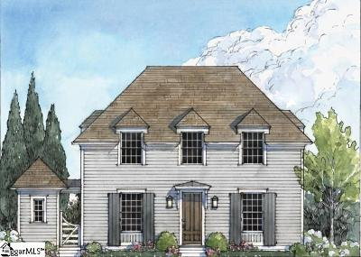 Greenville Single Family Home Contingency Contract: 203 Tollison #(Lot 45)