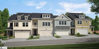 Greer Condo/Townhouse For Sale: 109 Coogan #Homesite