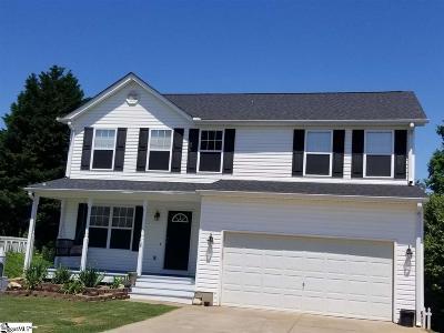 Greer Single Family Home For Sale: 407 Woolridge