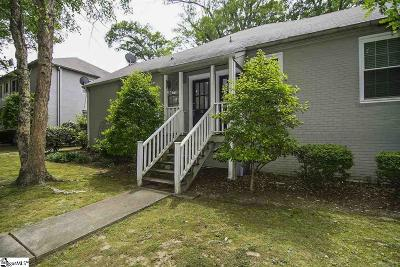 Greenville Condo/Townhouse For Sale: 418 Randall #Apt 16