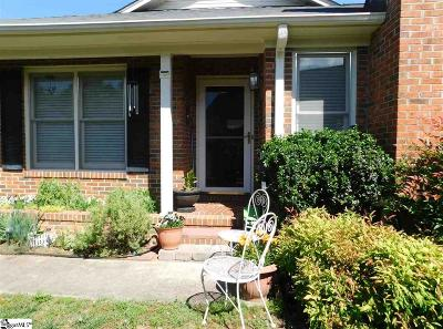 Greer Condo/Townhouse For Sale: 3 Hillington