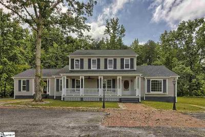 Easley Single Family Home For Sale: 1736 Farrs Bridge #Tract A