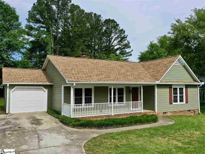 Greer Single Family Home For Sale: 111 Kings Mountain