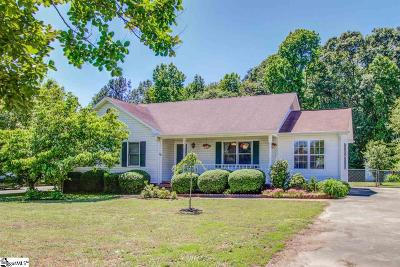 Greer Single Family Home Contingency Contract: 121 Hillcrest