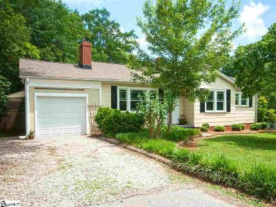 Greenville Single Family Home Contingency Contract: 31 Mayfair