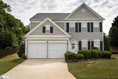 Simpsonville Single Family Home Contingency Contract: 4 Eagleston