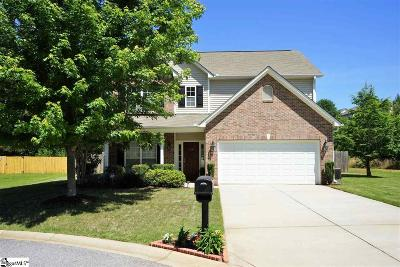 Easley Single Family Home Contingency Contract: 114 Buck Hill