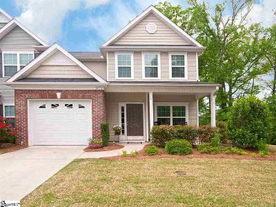 Simpsonville Condo/Townhouse For Sale: 174 Shady Grove