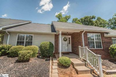 Simpsonville Condo/Townhouse For Sale: 6 Creekbend