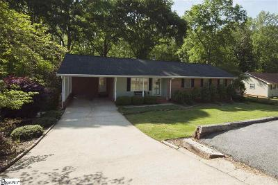 Greenville Single Family Home For Sale: 106 Mark