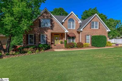 Simpsonville Single Family Home For Sale: 202 Picton
