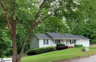 Travelers Rest Single Family Home Contingency Contract: 201 Brandt