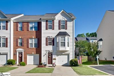 Simpsonville Condo/Townhouse For Sale: 44 Heritage Oak