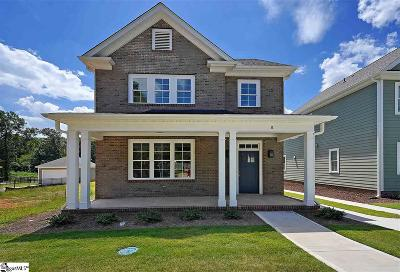 Greenville Single Family Home For Sale: 8 Maydell