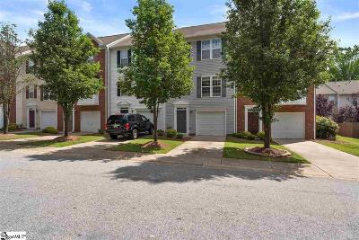 Greenville County Condo/Townhouse For Sale: 221 Cambria