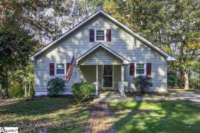 Inman Single Family Home For Sale: 126 Amber