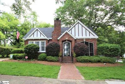 Spartanburg Single Family Home For Sale: 129 S Fairview