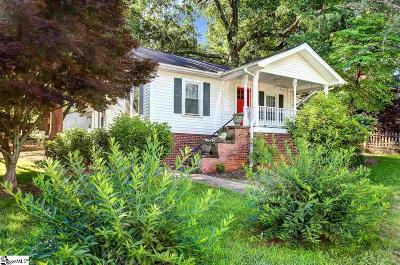 Greenville Single Family Home Contingency Contract: 5 Donnybrook