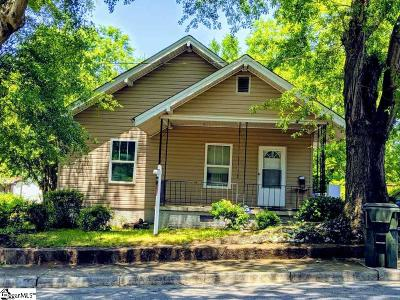 Greenville Single Family Home For Sale: 5 A
