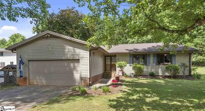 Taylors Single Family Home For Sale: 1003 Hollow Oak