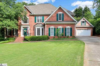 Simpsonville Single Family Home For Sale: 1 Glenbriar
