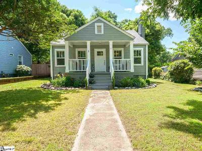 Greenville Single Family Home For Sale: 12 Sitka