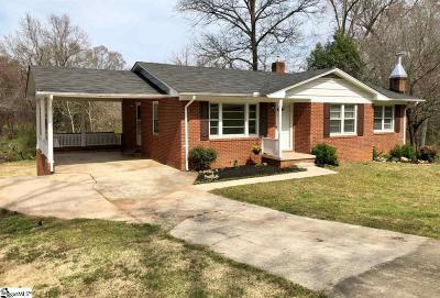 Greenville SC Single Family Home For Sale: $217,000