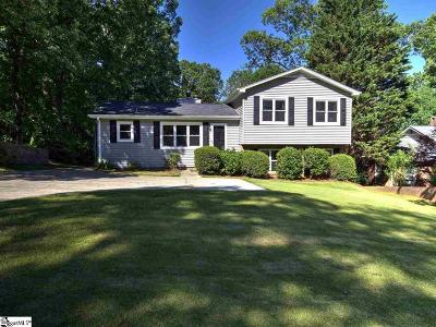 Taylors Single Family Home For Sale: 203 Edwards Mill